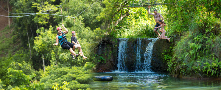 princeville helicopter tours with Zipline Tours on Tiki Hut also 7 Spots You Can t Miss On Kauai furthermore Zipline Tours further Wailua Falls also Hanalei Church.